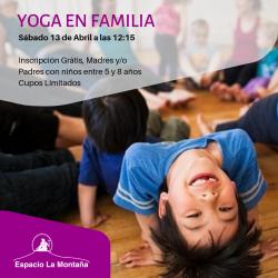 Yoga en Familia – La mejor forma de conectarte
