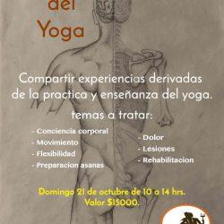 Taller Los procesos del Yoga: 21 de octubre 10:00 hrs.